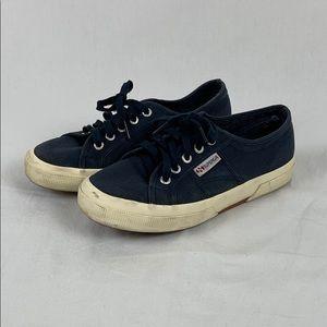 ✨3/$25✨Superga Blue Canvas Sneakers Men's - 6